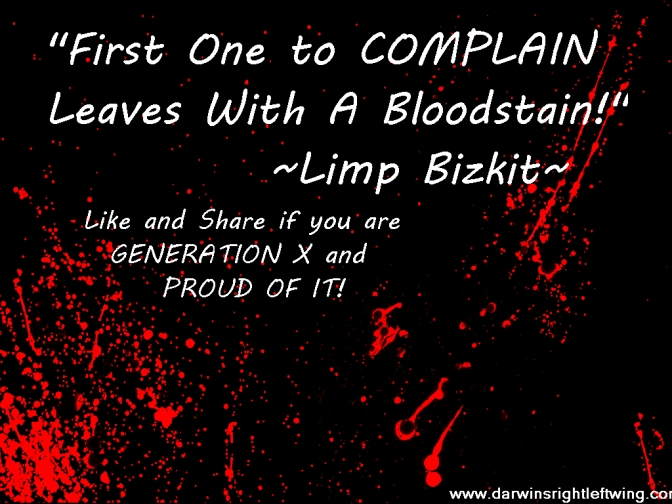 First One to Complain Leaves with a BLOODSTAIN! ~Limp Bizkit~