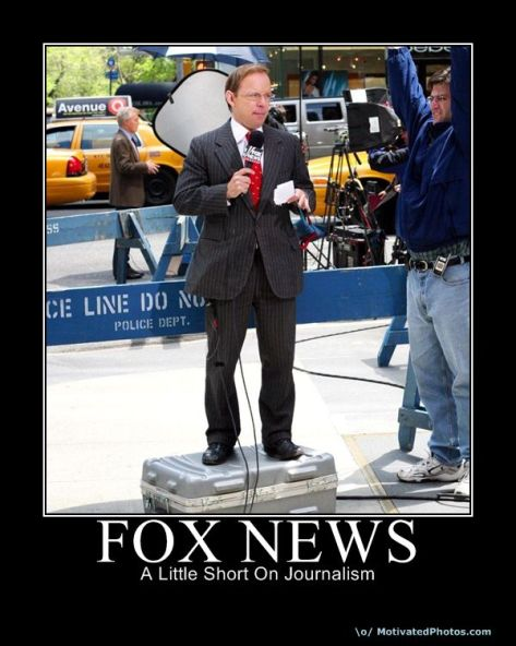 Fox News A Little SHORT on Journalism