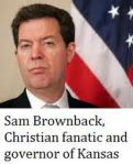 Governor Brownback will NOT assist thousands of Kansans in gaining safe medical access to a plant that can alleviate their problems. His religious agenda and corporate America view points are hurting...not helping...Politics and religion don't mix. Oil and water!