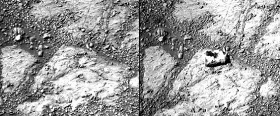 Mystery Mars Rock: Is it a rock or alien life?