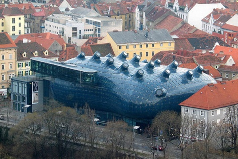 The Graz Art Museum also Called the Friendly Alien