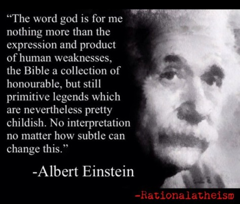 Albert Einstein Rational Atheism