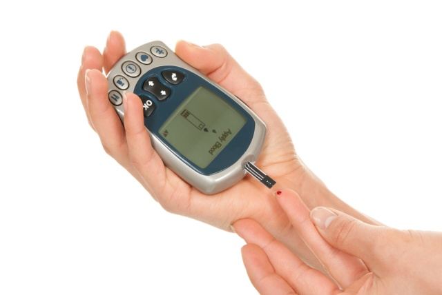 I test my blood sugar up to 4 times per day, depending on how I am feeling. When my feet start burning, tingling pins and needles, I test and I am usually high on  my blood sugar at that time! High Blood Sugar thickens the blood and reduces circulation, especially to the feet, because they are farthest from the heart!