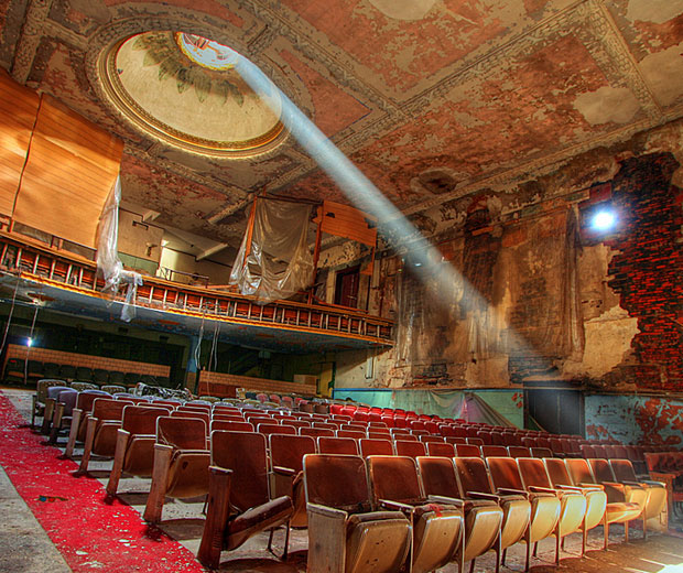 Gary Palace Theater Seats, Indiana