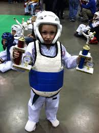 Laney TaeKwonDo Champion Second Chrons Warrior First