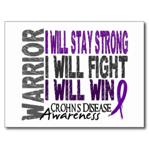Warrior I Will Stay Strong I Will Fight I Will Win