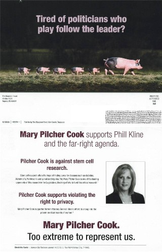 Senator Mary Pilcher Cook