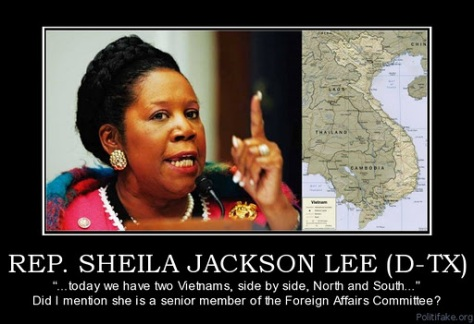 Representative Shiela Jackson Lee D Texas image courtesy of www.thescottcarpdream.blogspot.com via Google Images