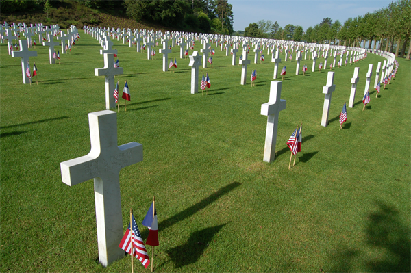 The Aisne-Marne American Cemetery. Image courtesy of www.marforeur.marines.mil via Google Images.